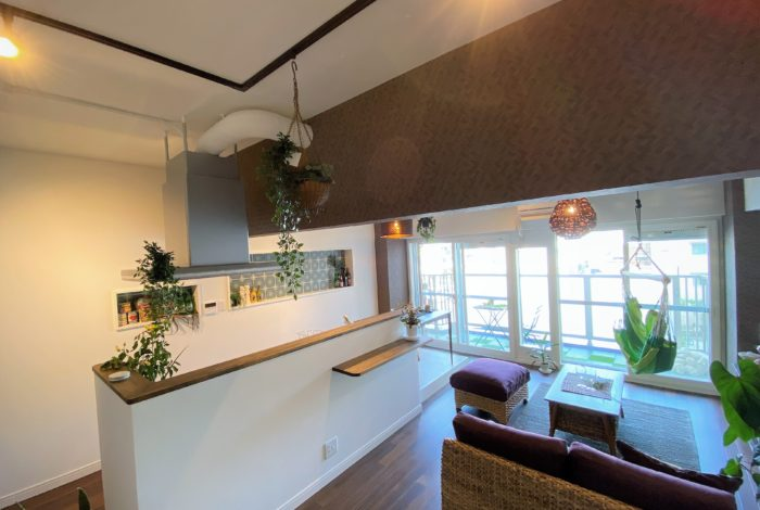 心地よい癒しの空間「リゾートスタイルのリノベーション」見学会。ユニハイム明石318号室