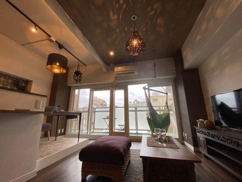 【明石市】心地よい癒しの空間「リゾートスタイルのリノベーション」見学会。ユニハイム明石318号室