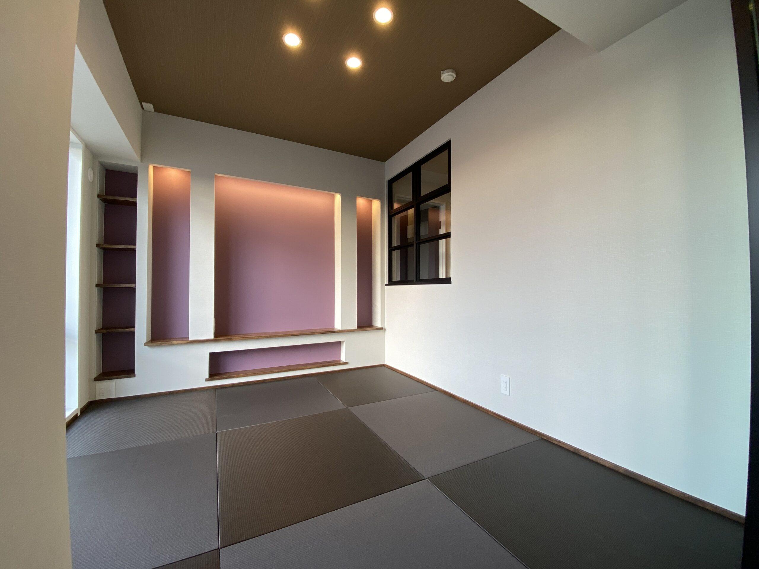 【神戸市】Refaの中古マンションリノベーション。ラ・フォルテ西神中央2番館2507号室。和室