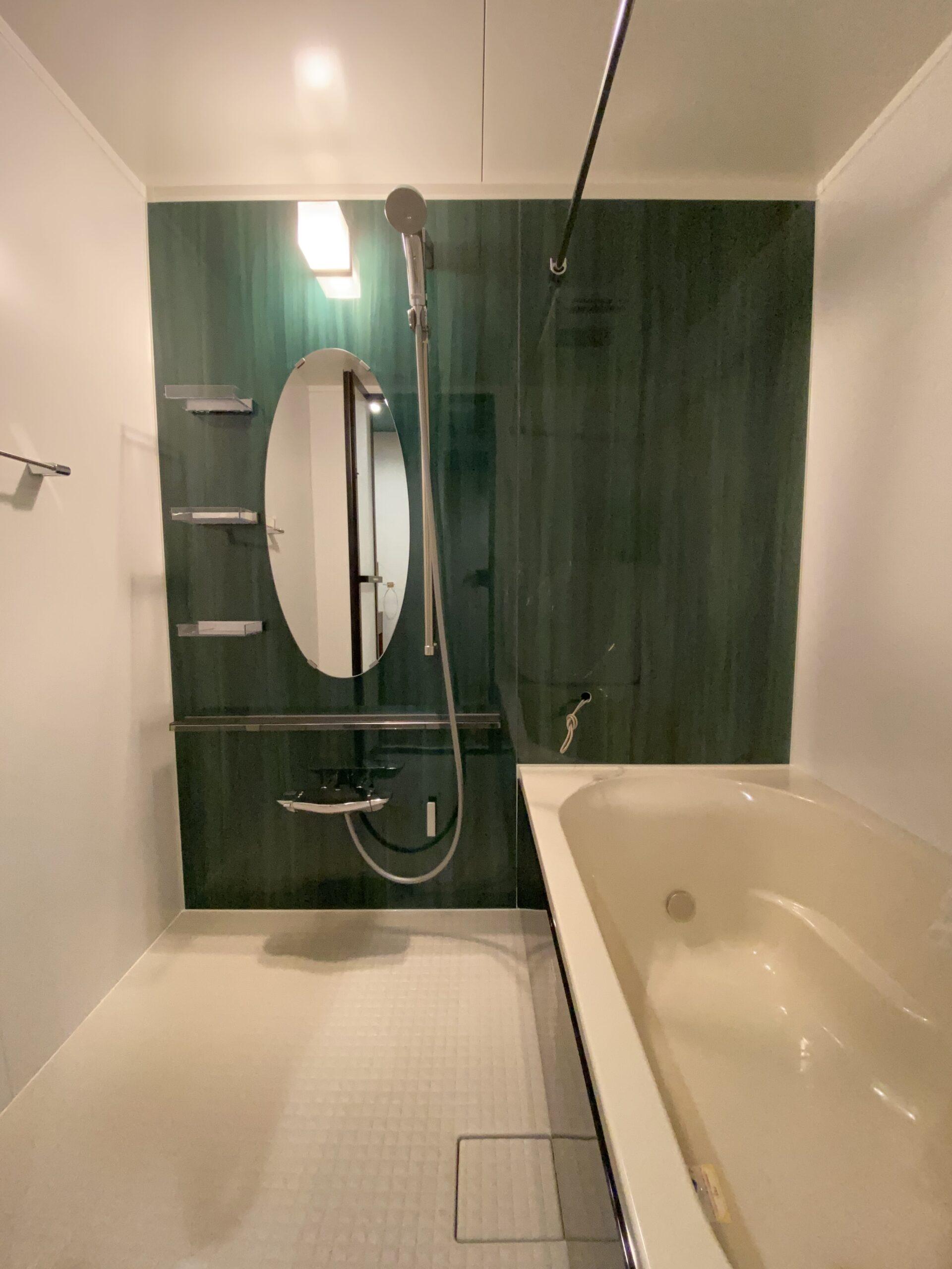 【神戸市】Refaの中古マンションリノベーション。ラ・フォルテ西神中央2番館2507号室。浴室