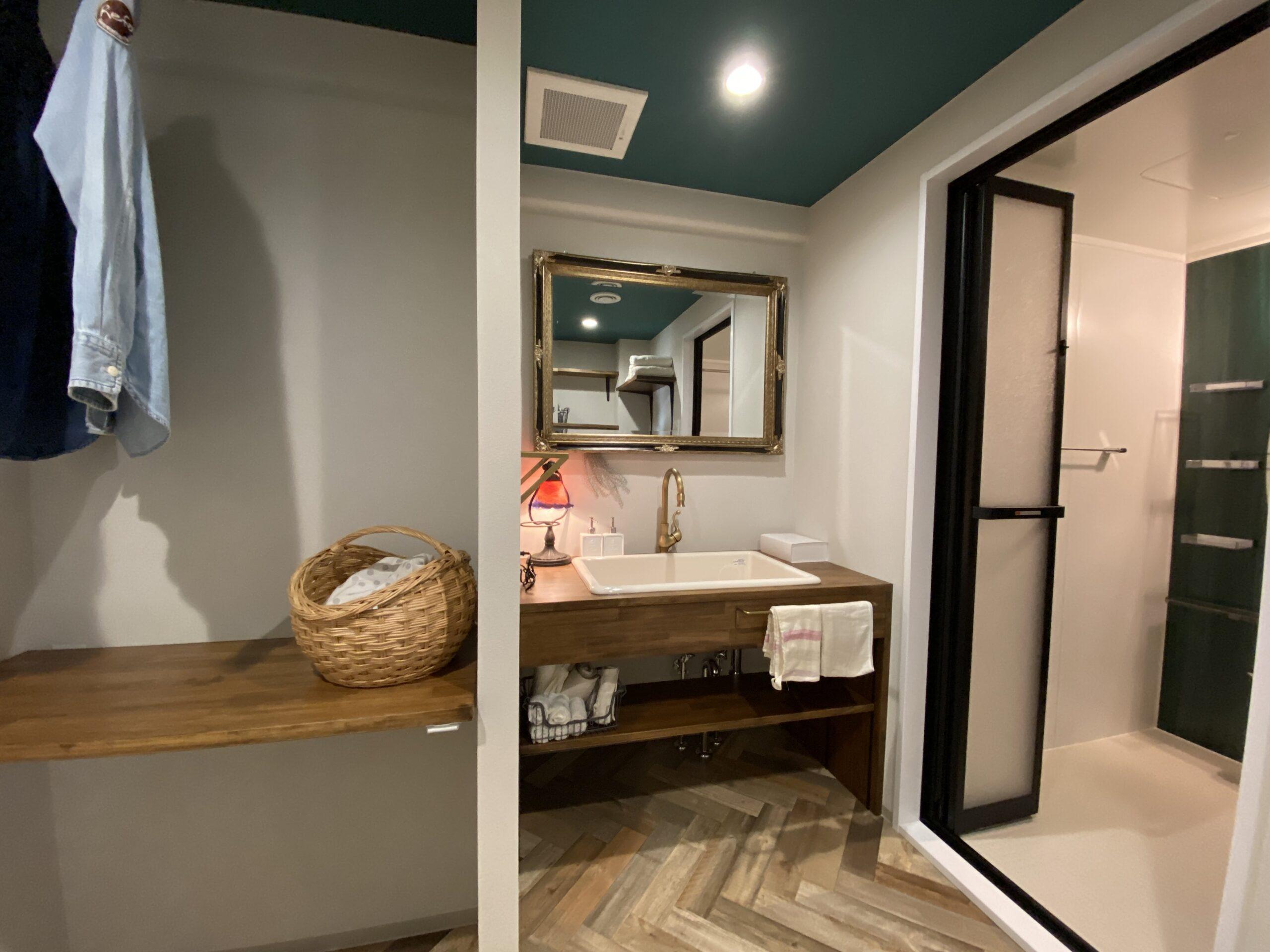 【神戸市】Refaの中古マンションリノベーション。ラ・フォルテ西神中央2番館2507号室。ステージング後の洗面所